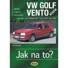 VW GOLF III/VENTO benzin • 9/91 - 12/98 • Jak na to? č. 19
