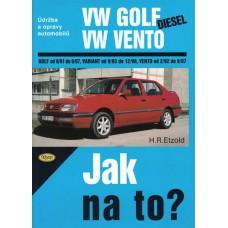 VW GOLF III/VENTO diesel • 9/91 - 12/98 • Jak na to? č. 20