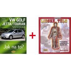 VW GOLF V/GOLF PLUS/JETTA/TOURAN • 2003 – 2008 • Jak na to? č. 111 + Poznej lidské tělo