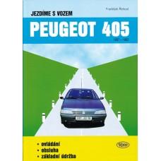 Jezdíme s vozem PEUGEOT 405 (1987 - 1992)