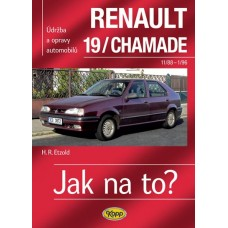 RENAULT 19/CHAMADE • 11/88 - 1/96 • Jak na to? č. 9