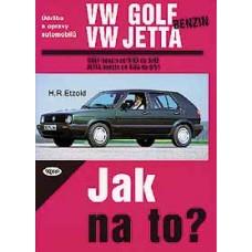 VW GOLF II/JETTA benzin • 9/83 - 6/92 • Jak na to? č. 5