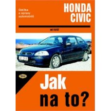 HONDA CIVIC • 10/87 - 12/00 • Jak na to? č. 64 ►SLEVA◄