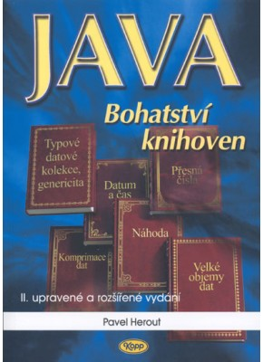 Java - bohatství knihoven • SLEVA • POSLEDNÍ 4 KUSY ***