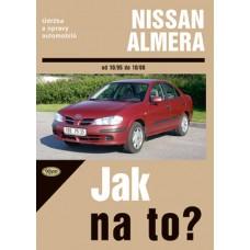 NISSAN ALMERA • 10/1995 - 10/2000 • Jak na to? č. 81