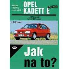 OPEL KADETT E benzin • 9/84 - 8/91 • Jak na to? č. 7