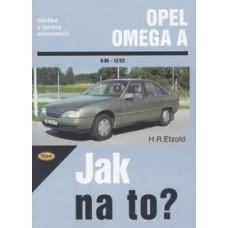 OPEL OMEGA A • 9/86 do 12/93 • Jak na to? č. 28