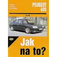 PEUGEOT 405 • do 1993 • Jak na to? č. 21